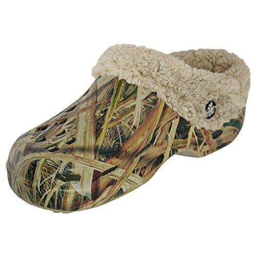 Dawgs Mens Mossy Oak Fleece Clog Sg Blades