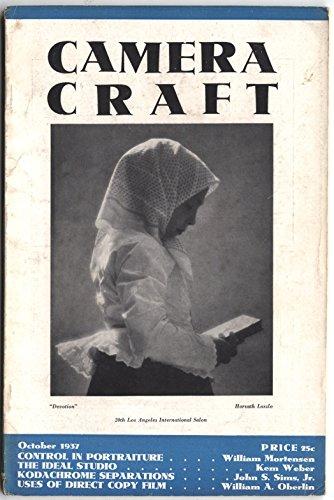 - Camera Craft Magazine October 1937