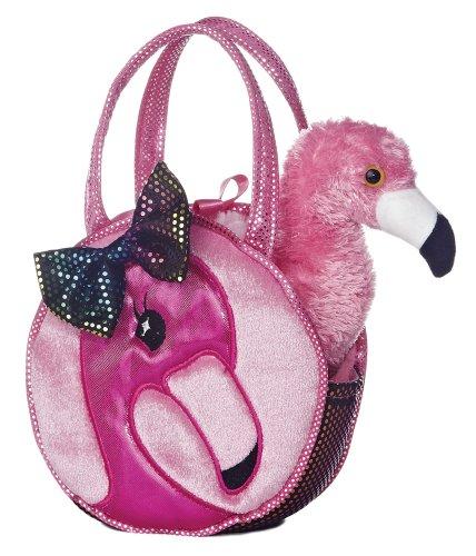 Aurora World Fabulous Flamingo Fancy Pals Pet Carrier - -