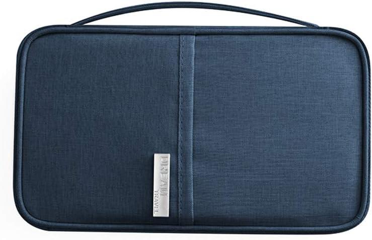 Rojeam Portefeuille de Passeport Famille Titulaire du Passeport Document Titulaire de la Carte de cr/édit
