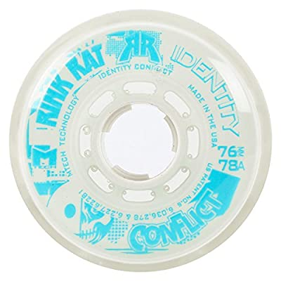 Rink Rat Identity Conflict 78A Inline Hockey Skate Wheels - 4 Pack 2014 : Sports & Outdoors