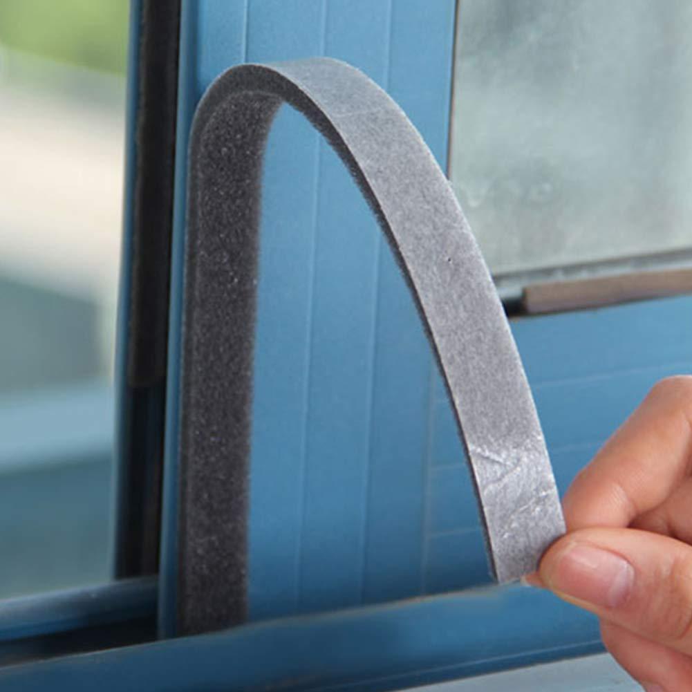 Window Isolation sonore Bandes 100/* 1.5/cm 4/pcs Porte Fen/être Bande de Boudin de Porte en Mousse m/ét/éo Seal d/énuder Autocollant Ruban adh/ésif Isolation phonique pour Bas