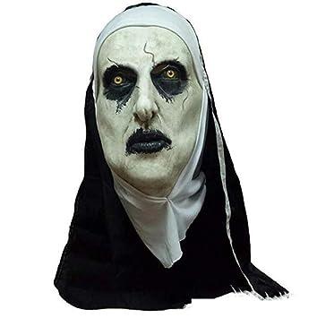 WYBXA Máscara De Halloween, Terror, Terrorífico, Sorprendido, Máscara Facial Femenina, Suministros