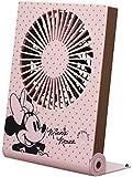 ドウシシャ 卓上扇風機 Disneyシリーズ 11cm 3電源(AC,USB,単3乾電池)ミニー FWSS-101U MN