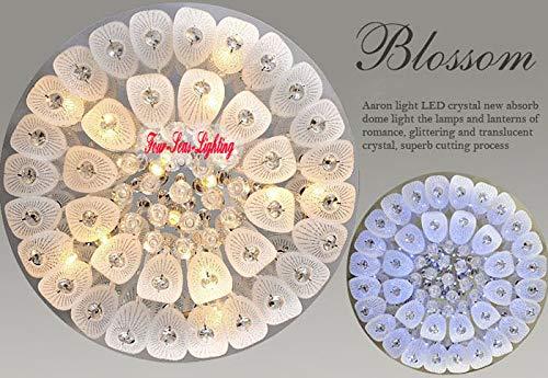 FidgetGear Modern K9 Crystal Chandelier Pendant Ceiling Lighting Living Room Pendant Lamp D50CM/19.7'' by FidgetGear (Image #7)
