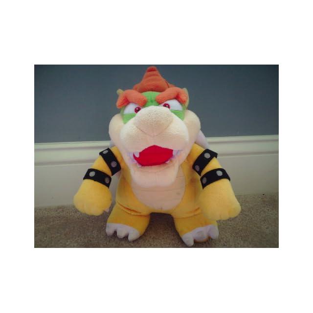 Super Mario Plush   10 Bowser Soft Stuffed Plush Toy Japanese Import