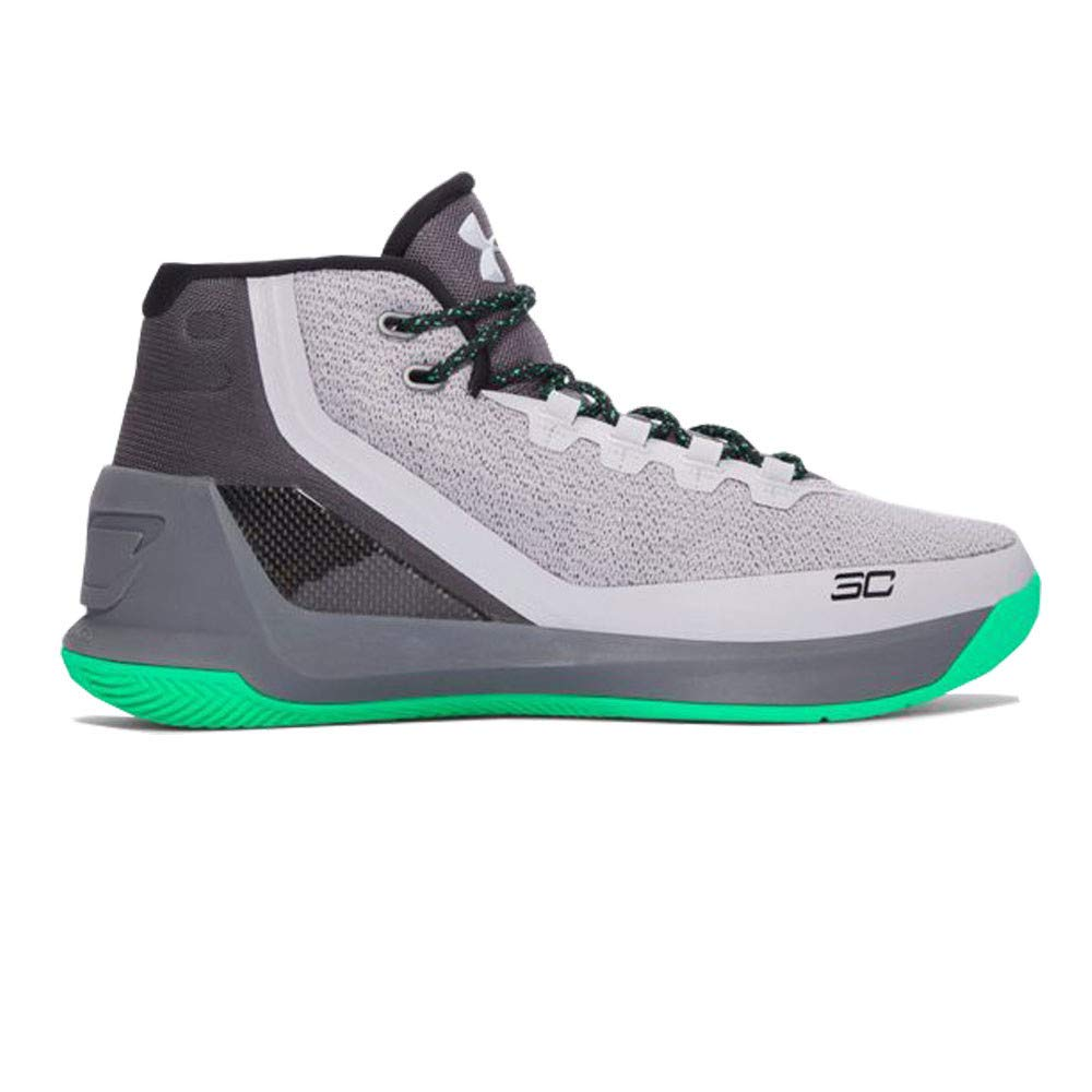 4697e69458a5 Galleon - Under Armour Curry 3 Basketball Shoes - 14 - Grey