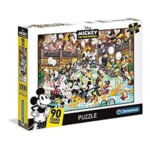 Clementoni Clementoni 39472 High Quality Collection Puzzle Mickey 90 Celebration 1000 Pezzi Disney Multicolore 39472