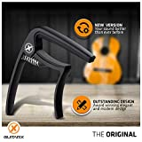 GUITARX X2 Capo for Acoustic Guitar, Electric