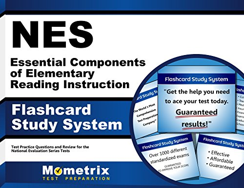 NES Essential Components of Elementary Reading Instruction Flashcard Study System: NES Test Practice Questions & Exam Review for the National Evaluation Series Tests (Cards) (Essential Components)