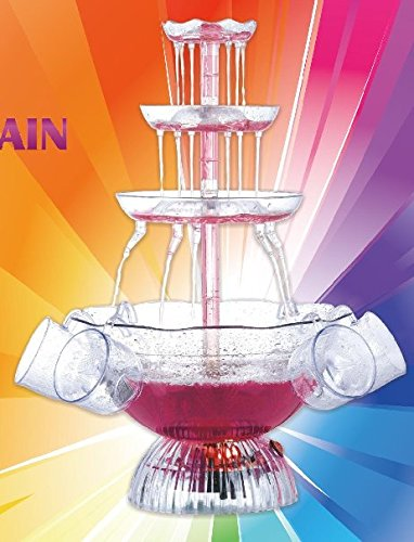 J-JATI Cocktail Wine Electric Party Fountain (Lighted Beverage Set)