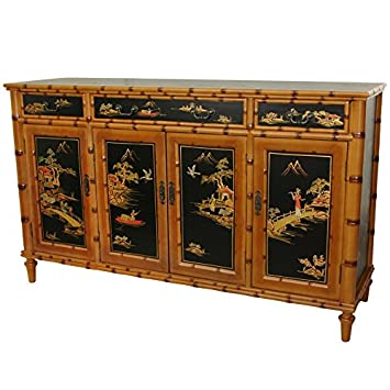 Oriental Furniture 60 Ching Hall Cabinet