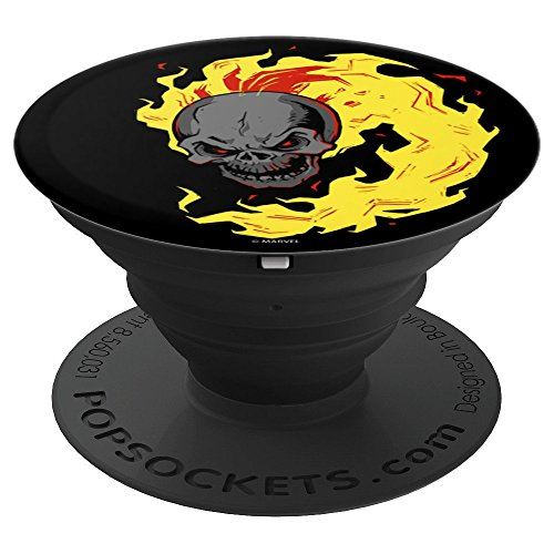 Marvel Ghost Rider Flaming Skull - PopSockets Grip and Stand for Phones and Tablets