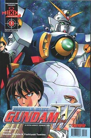 Mobile Suit Gundam Wing Comic #3 (Mobile Suit Gundam Wing, 3) (Gundam Wing 3)