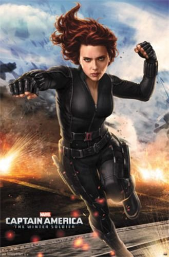 Amazon.com: 1 X Captain America 2 - Black Widow 22
