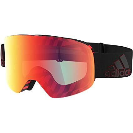 adidas Gafas de Sol BACKLAND AD80 Black Red/Light Red Mirror ...