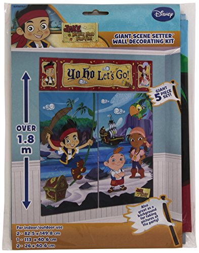 Amscan Disney Jake and Neverland Pirates Scene Setters