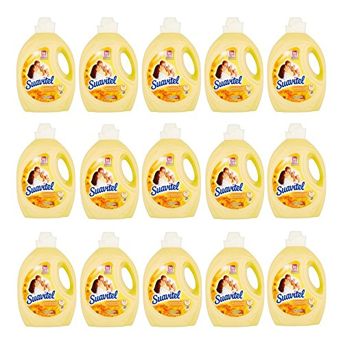 Suavitel Morning Sun Fabric Softener, 135 fl oz (pack of 15) by Suavitel