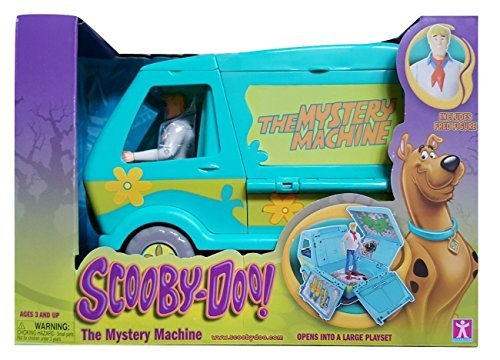 Scooby Doo! Mystery Machine with Fred Figurine ()
