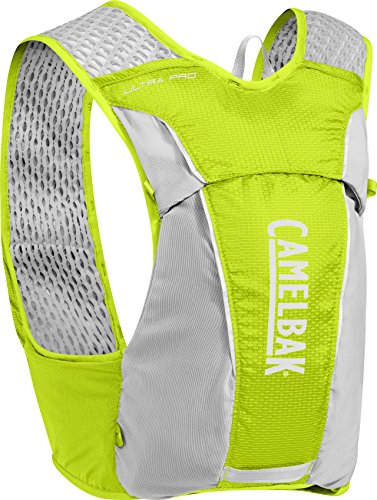 CamelBak Ultra Pro Hydration Vest, Lime Punch/Silver, Large (Air Cool Flow Rapid)