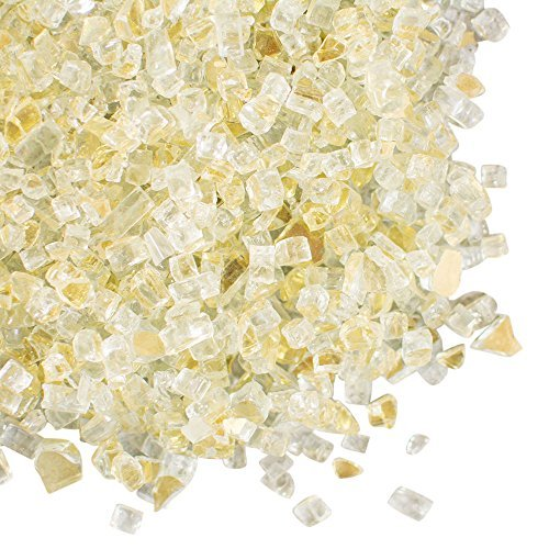 Gold Vase Filler, Crushed Mirror Glass, 8.4 lbs, 92 Ounces, Wedding Centerpiece Table Scatter, (Clear & - Height Pot Filler