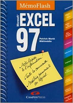Book Excel 97 : Mémento, Microsoft