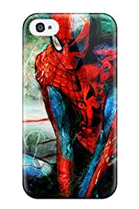 Iphone 4/4s Well-designed Hard Case Cover Spider-man Protector 1513105K75974894