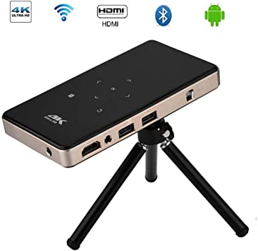 Tosuny Micro Proyector WiFi 1080P 4K Proyección 30-120inch ...