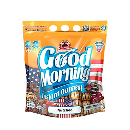 Max Protein Good Morning Instant Oatmeal - 1,5 kg Brownie: Amazon.es: Alimentación y bebidas