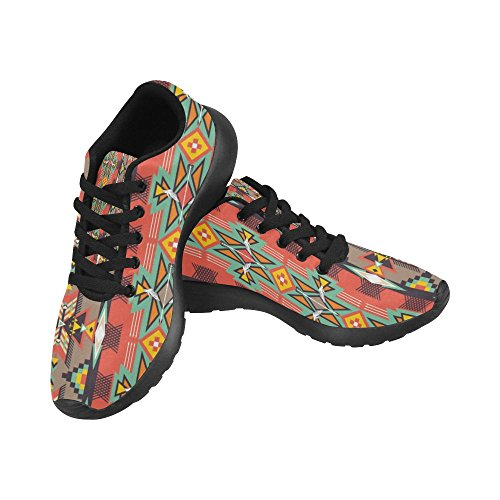 Athletic Women's Running Shoes Print US On Size 6 15 Sneakers Casual Hot Lightweight Aztecs Pattern Color InterestPrint x8qwP0TYx