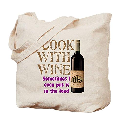 CafePress–Vino Cook–Gamuza de bolsa de lona bolsa, bolsa de la compra