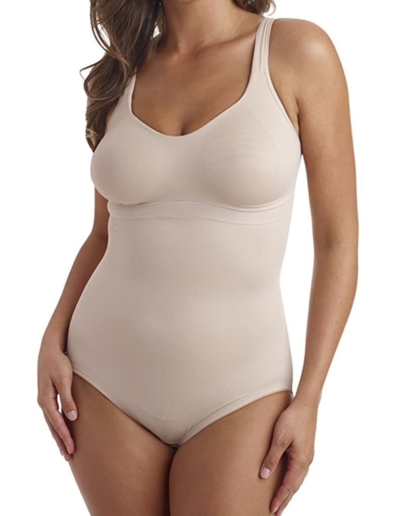 766bfca0af Miraclesuit Shapewear 2900 Women s Flexible Fit Nude Non-Wired Body at  Amazon Women s Clothing store