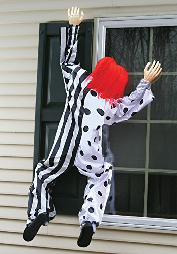 Killer Clown Window Hanging Decoration Standard -
