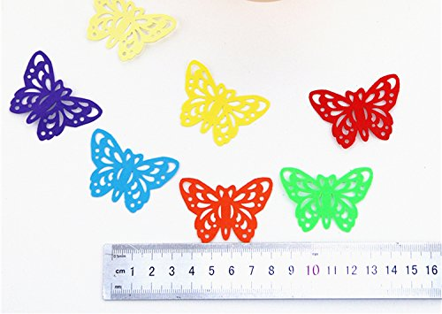 TECH-P Creative Life Crafts Engraving Hole Punch 2-Inch -DIY Paper Punch for Card Scrapbooking Craft Punch Embossing Border School Supplies. (Butterfly-2) Photo #6