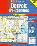 Rand McNally Detroit & Wayne County Streetfinder (Rand McNally Streetfinder)