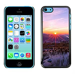 "For Apple iPhone 5C , S-type Naturaleza Hermosa Forrest Verde 83"" - Arte & diseño plástico duro Fundas Cover Cubre Hard Case Cover"