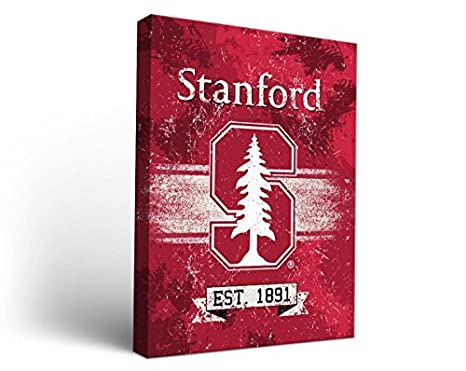 Victory Tailgate Stanford University Cardinal Canvas Wall Art Banner Design