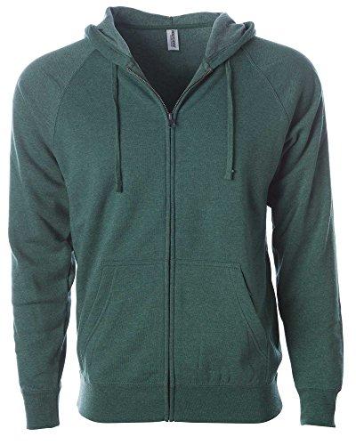 Family Zip Hoodie - Global XL Sweatshirt Men Hoodie Sweater Women Full Zip Soft Fleece Active Jacket