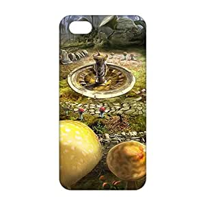 diy zhengCool-benz alice wonderland artwork (3D)Phone Case for Ipod Touch 4 4th /