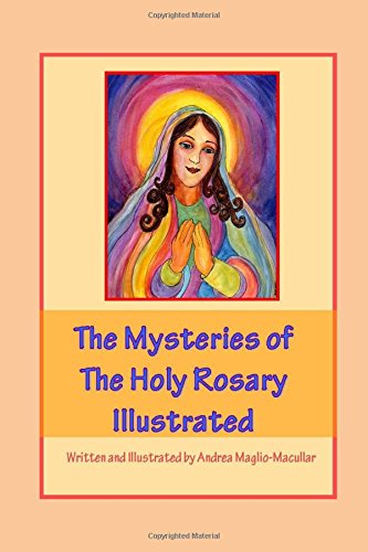 Mysteries Holy Rosary Illustrated product image