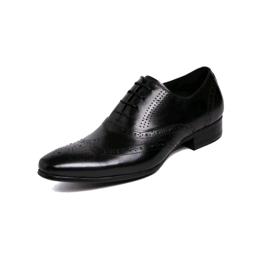 ZQZQ Männer, Formelle England, Spitz, Geschäft, Formelle Männer, Kleidung, Tragbar schwarz 8a67e4