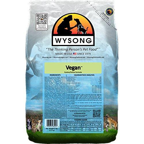 Wysong Vegan Feline/Canine Formula Dry Dog/Cat Food - 5 Pound Bag