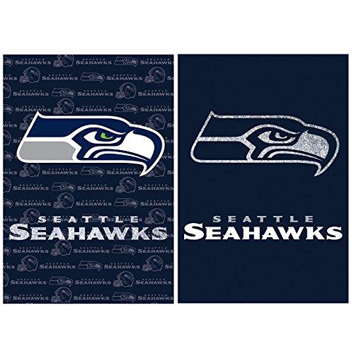 NFL 2-Sided Vertical Flag Size: 43