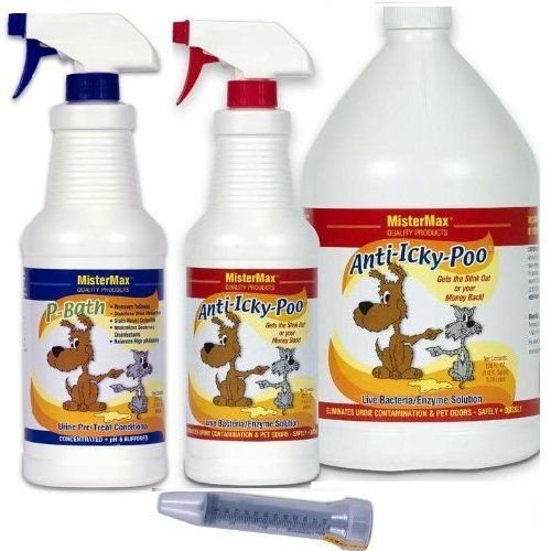 MisterMax Anti-Icky-Poo Starter Kit with P-Bath - Icky Kits Anti Poo