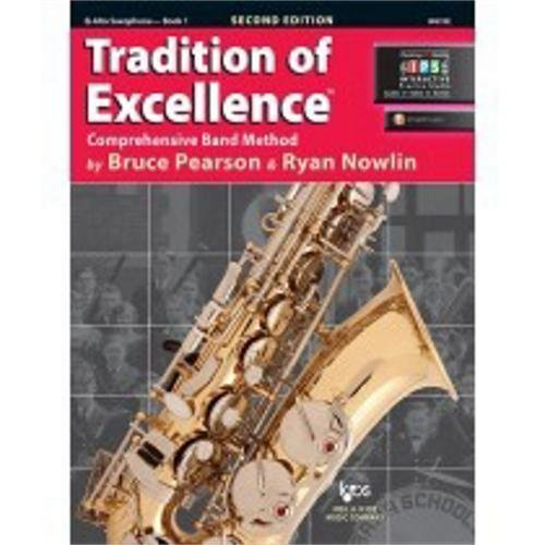 W61XE - Tradition of Excellence Book 1 - Alto (Book 1 Saxophone)