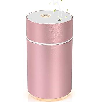 Sin agua aromaterapia máquina instrumento difusor de aceite esencial atomizador dormitorio silencioso agua fría spray difusor de aceite esencial: Amazon.es: ...