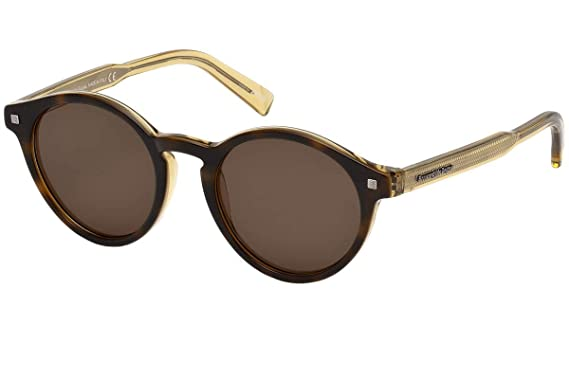 6a1748dafe Image Unavailable. Image not available for. Color  Ermenegildo Zegna EZ0063  - 56E Sunglasses ...