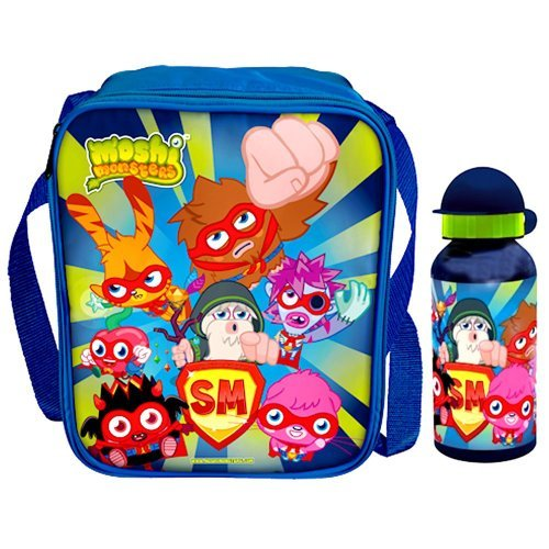Moshi Monsters Lunch Bag & Aluminium Bottle