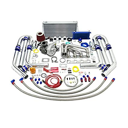 High Performance Upgrade T04E T3 20pc Turbo Kit - BMW M10 l4 4Cyl Engine