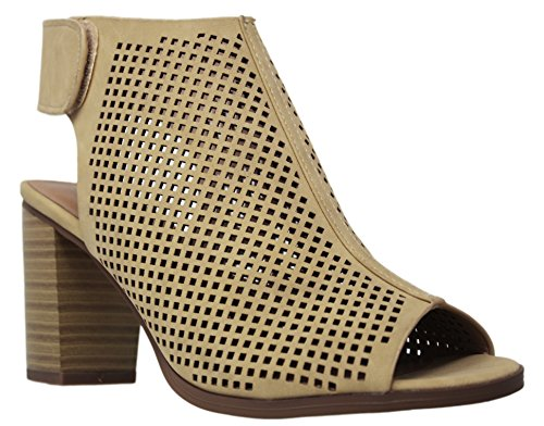 City Nb Classified Roadway Heel Women's Beige Ankle Straps rrqHwf0d